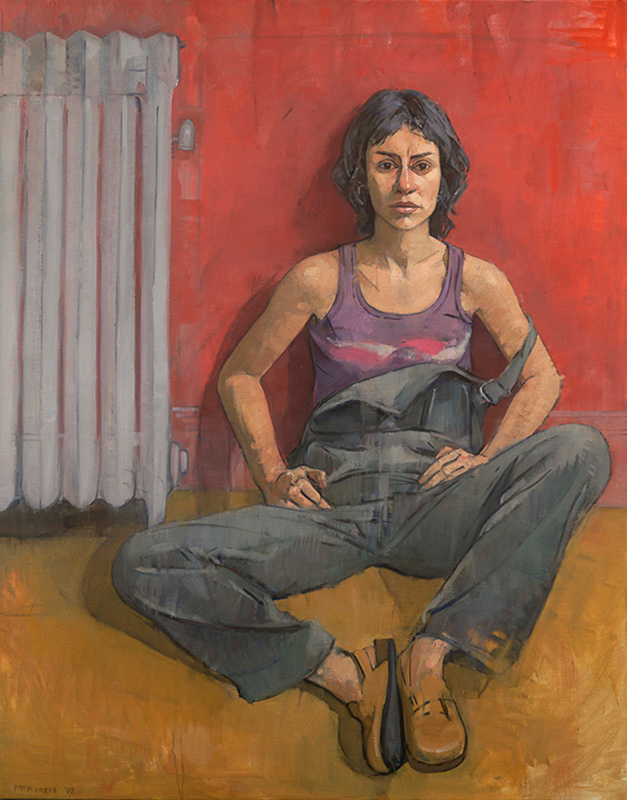 Mary Beth McKenzie, Amaya, undated. Oil on canvas, 50 x 40 in.