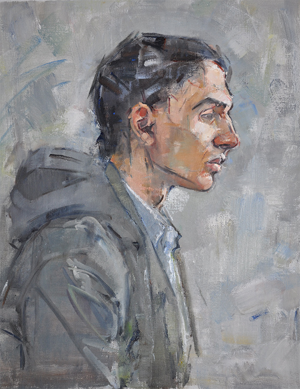 Mary Beth McKenzie, Christian, undated. Oil on canvas, 25 x 20 in.