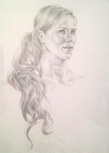 131104-s-silverpoint-Katie-Steiner,-_Annie_,-silverpoint-on-clay-coated-paper,-18-x-24-p