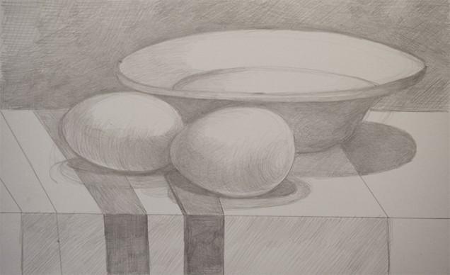 131104-s-silverpoint-Maria-Mottola,-_Breakfast_,-silverpoint-on-paper,-9-x-6-p
