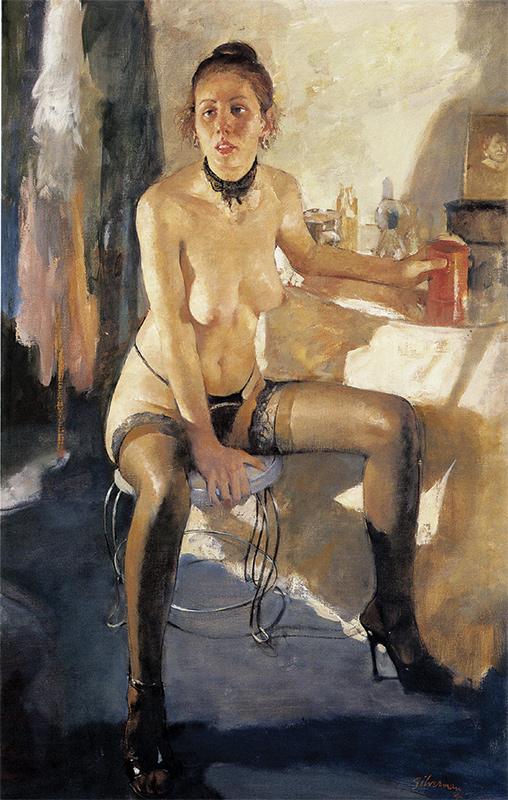 Realist Painter Burton Silverman