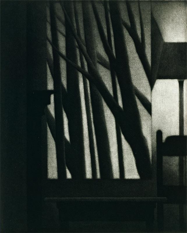 Printmaker Robert Kipniss