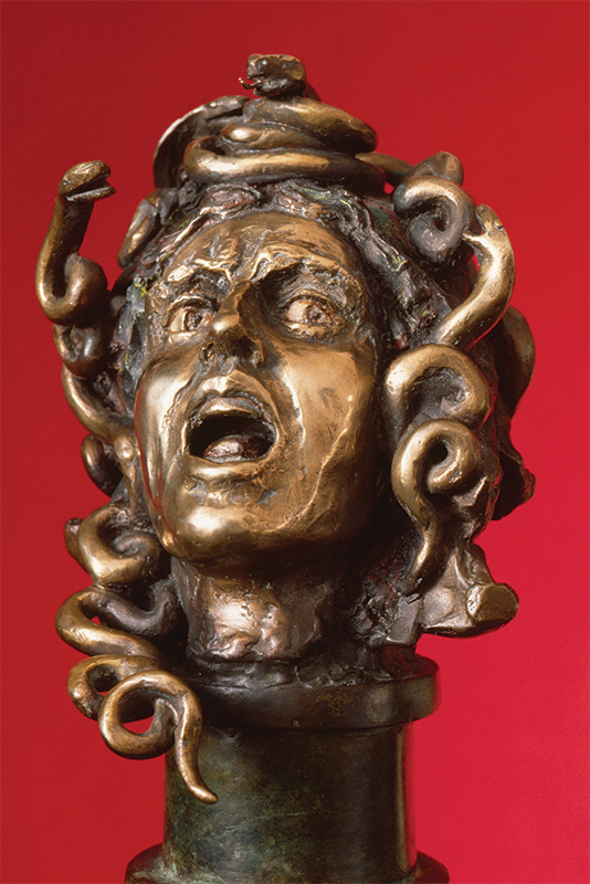 Head of Medusa from Audrey Flack, Student at The Art Students League of New York