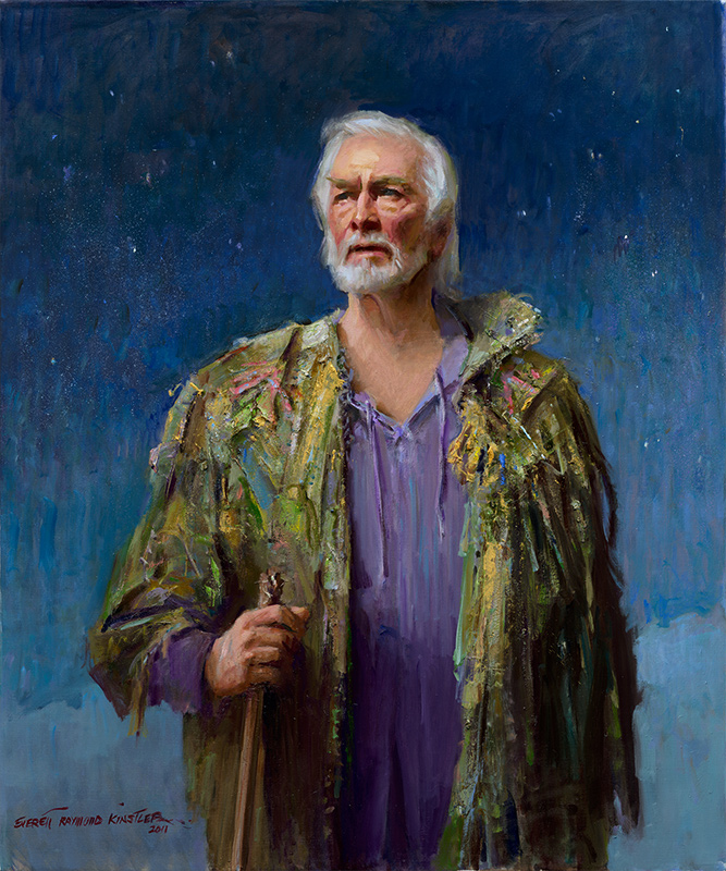 everett Raymond Kinstler pulps to portraits