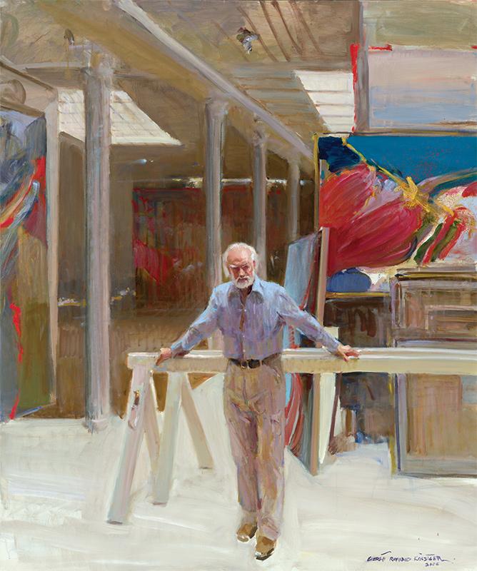 Paul Jenkins, 2006, Everett Raymond Kinstler, art classes NYC