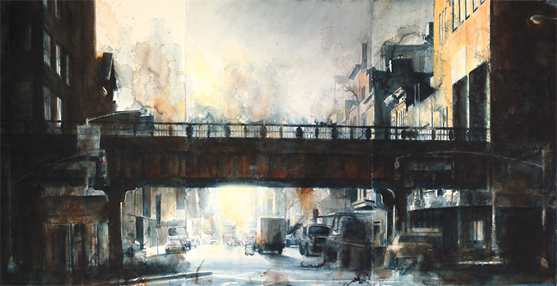 how to paint the city