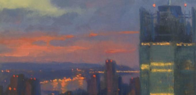 Joseph Peller in Urban Apparitions at Roberts Gallery