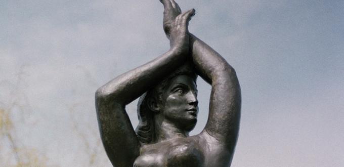 william zorach spirit of the sea