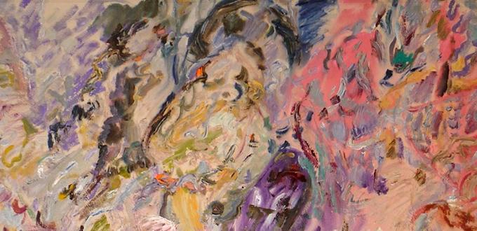 Larry Poons at Loretta Howard Gallery
