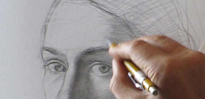 A Drawing Demonstration by Costa Vavagiakis