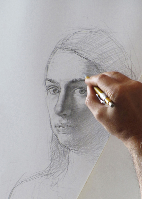 drawing demonstration