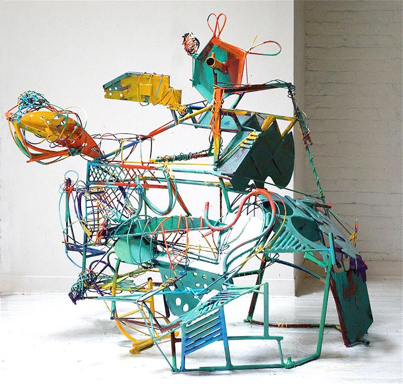 Peter Reginato at Gagosian Gallery