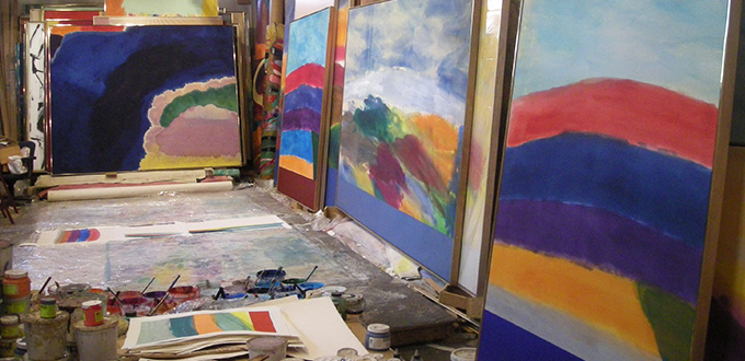 The Studio Project | Ronnie Landfield