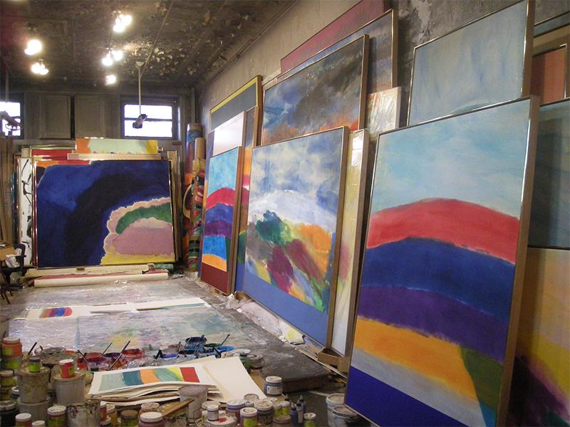 studio project ronnie landfield