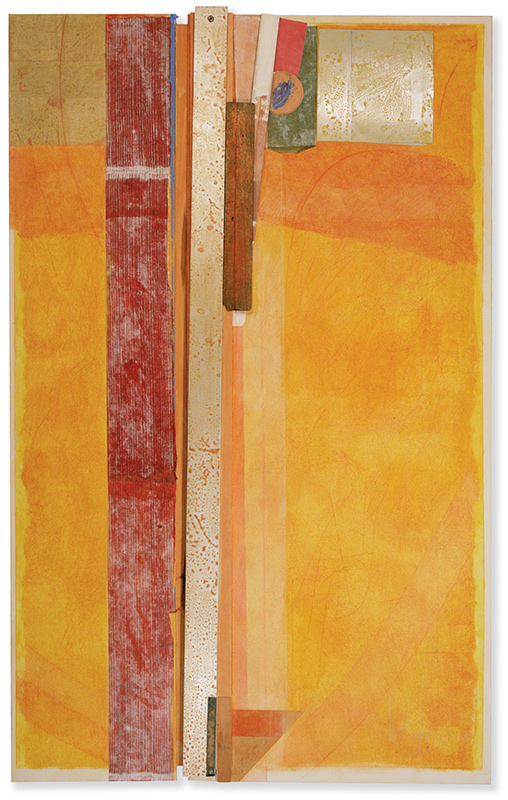 Bruce Dorfman, art classes instructor, Yellow Russet Drop (Nora), 2007.