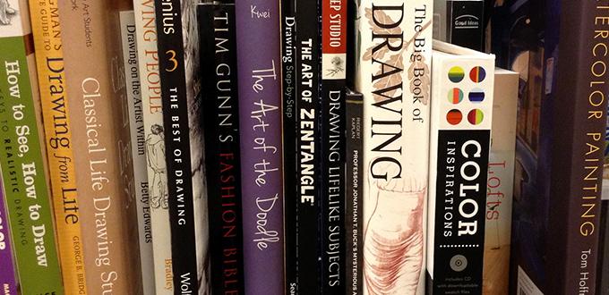 The Artist's Bookshelf
