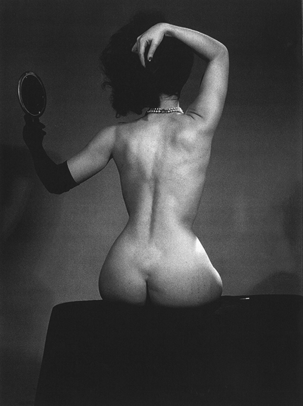 Bettie Page as Artist's Muse