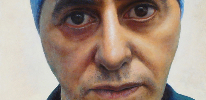 """Costa Vavagiakis Portraits in """"Making Faces"""" at Salena Gallery"""
