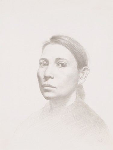 131104-s-silverpoint-Costa-Vavagiakis,-_Maria-XXI,_-silverpoint-on-paper,-11-+-x-9-+p