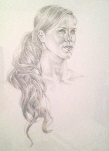 131104-s-silverpoint-Katie-Steiner,-_Annie_,-silverpoint-on-clay-coated-paper,-18-x-24-p