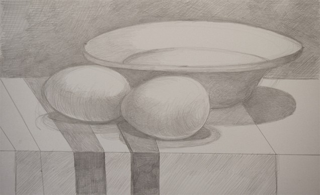 131104-s-silverpoint-Maria-Mottola,-_Breakfast_,-silverpoint-on-paper,-9-x-6-p