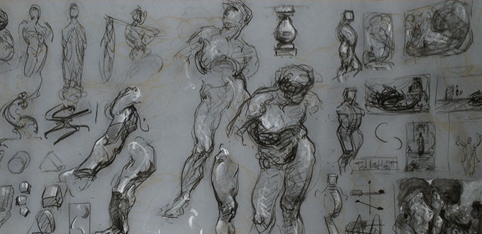 George Bridgman Constructive Anatomy Drawings