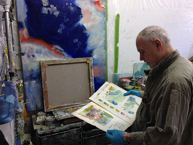 Frank O'Cain abstract painter