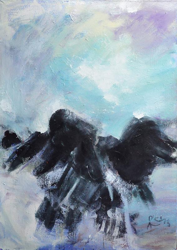 Frank O'Cain abstract painter