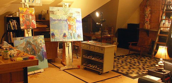 artist studio ontario canada