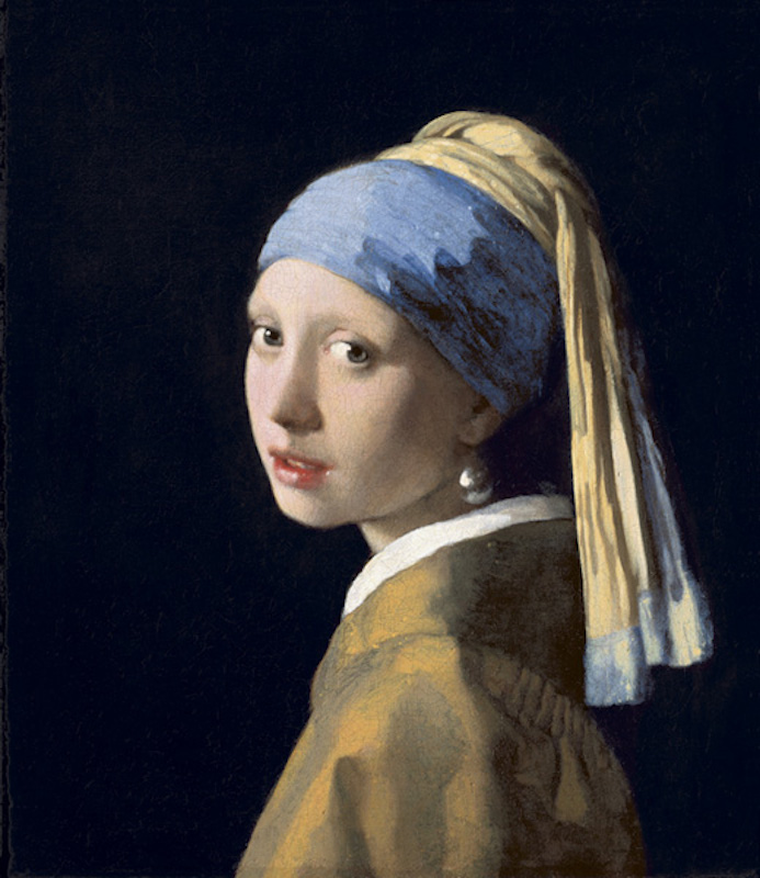 vermeer girl with a pearl earring