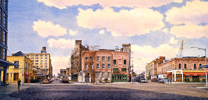 <i>Greenwich Village Stories</i>Includes Frederick Brosen's Watercolors