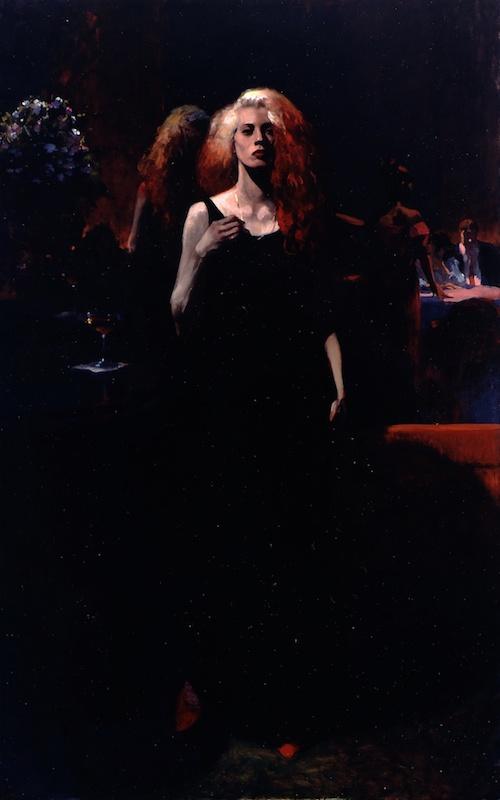 Joseph Peller, Cassandra, undated. Oil on linen, 88 x 56 in.
