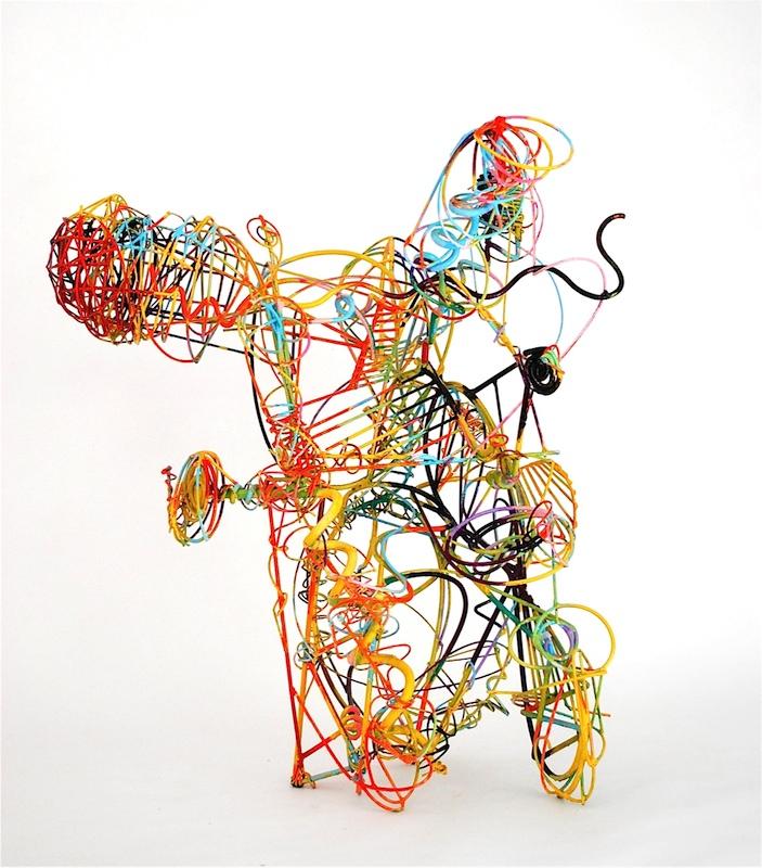 Reginato Is a Sculptor Who Paints