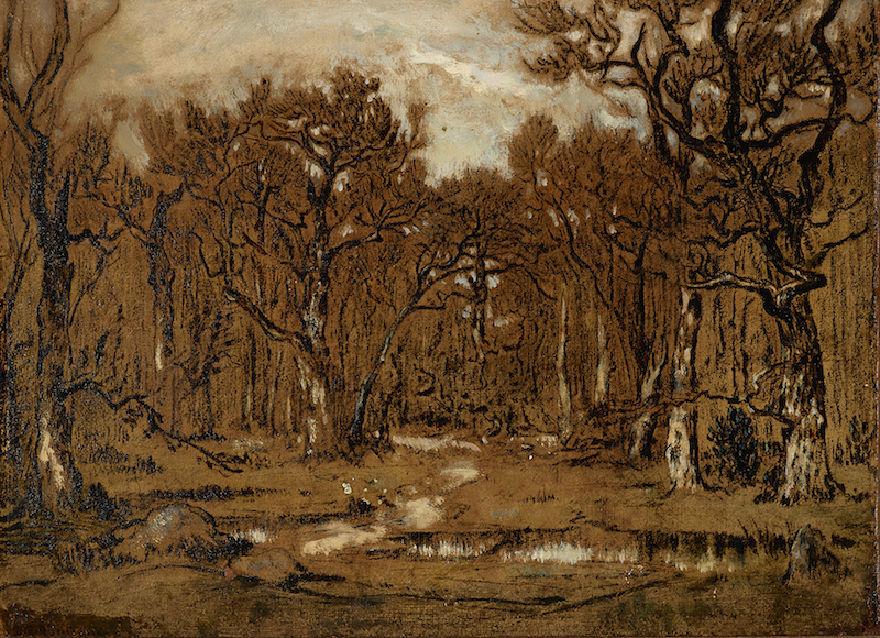 1. Rousseau Study for Forest