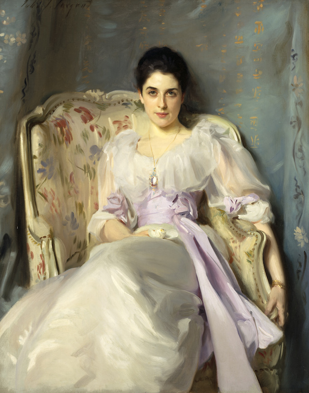 John Singer Sargent, Lady Agnew of Lochnaw, 1892.