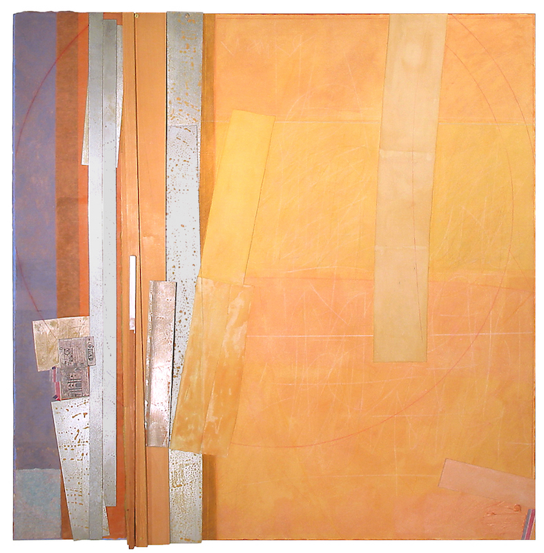 Bruce Dorfman, Thus, 2004. Mixed media, 49 x 48 1/2 in.