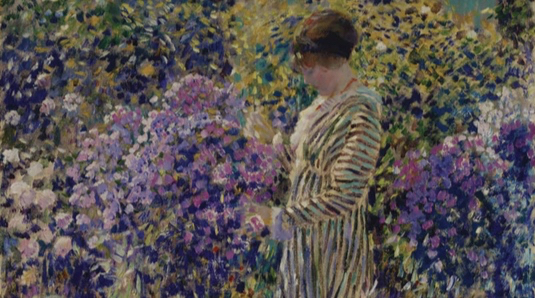 Jerry Weiss on Frederick Carl Frieseke