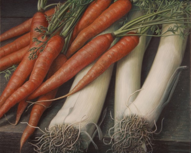 Carrots and Leeks, 8_X10_, 2015