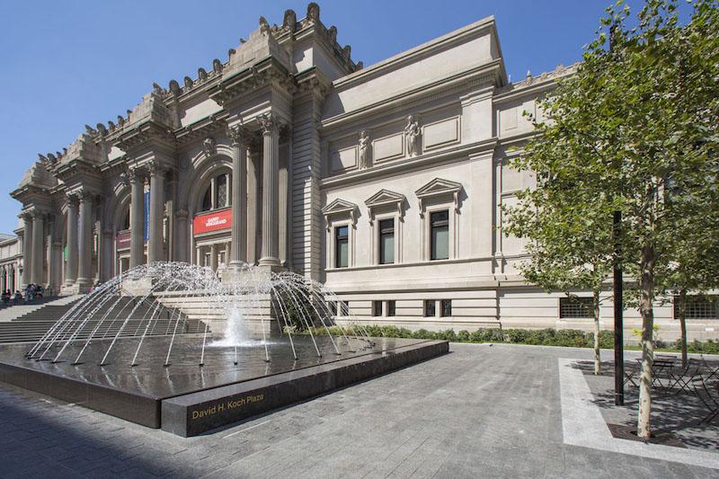 The Metropolitan Museum of Art David H. Koch Plaza (c) The Metropolitan Museum of Art