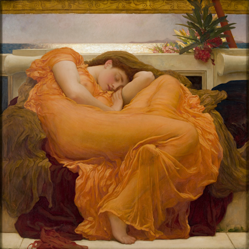 Leighton's Flaming June Frick Collection