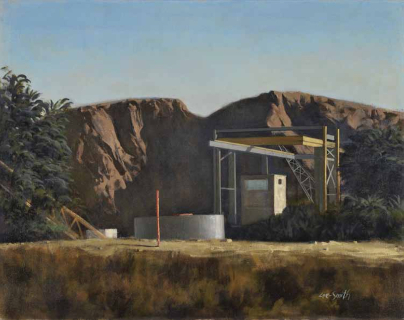 Hughie Lee-Smith, Abandoned, 1986. Oil on canvas, 37 x 47 in. The Art Students League of New York