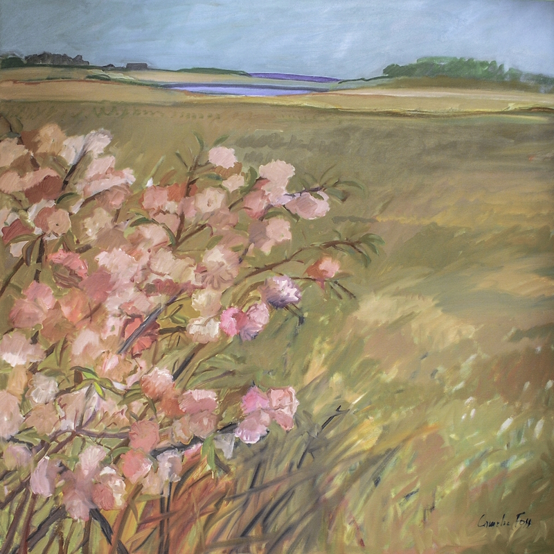 Cornelia Foss, Spring, 2009. Oil on canvas, 48 x 48 in.