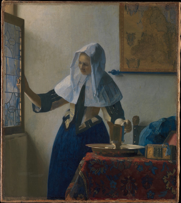 Vermeer's Young Woman with a Water Jug