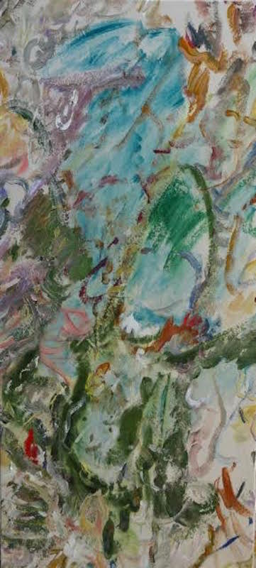 Poons.BrotherSchamus.2015.Acrylic:canvas.51x23