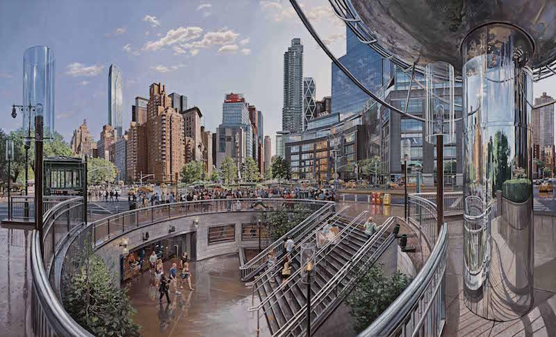 Robert Neffson cityscape