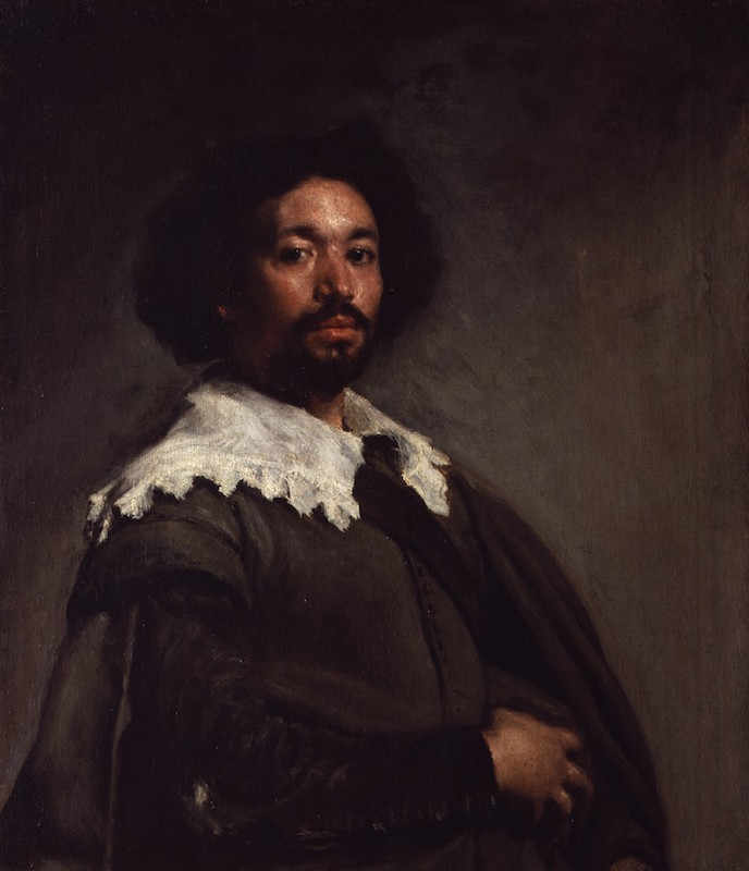 Velázquez, Juan de Pareja, 1650. Oil on canvas, 32 x 27½ in. The Metropolitan Museum of Art, Purchase, Fletcher and Rogers Funds, and Bequest of Miss Adelaide Milton de Groot (1876–1967), by exchange, supplemented by gifts from friends of the Museum, 1971.