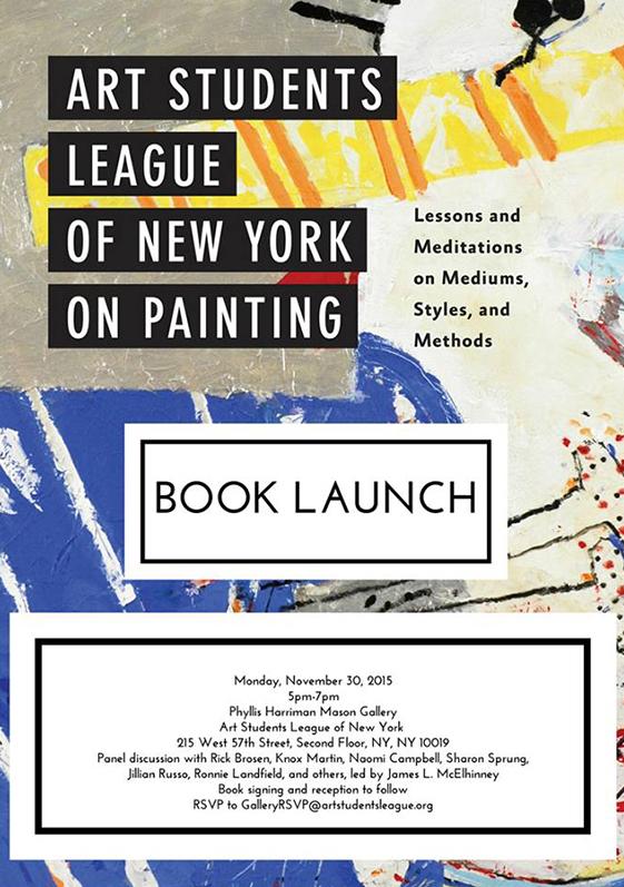 Nov30 Book launch NY