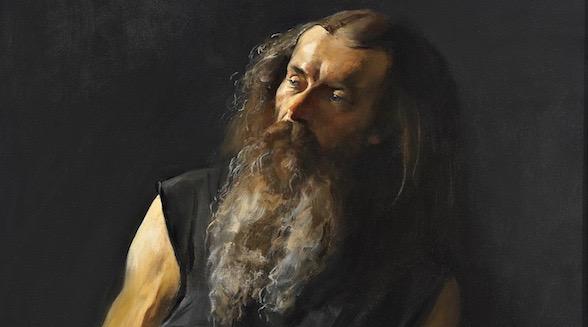 Gervits Portrait Acquired by Poet Yevtushenko