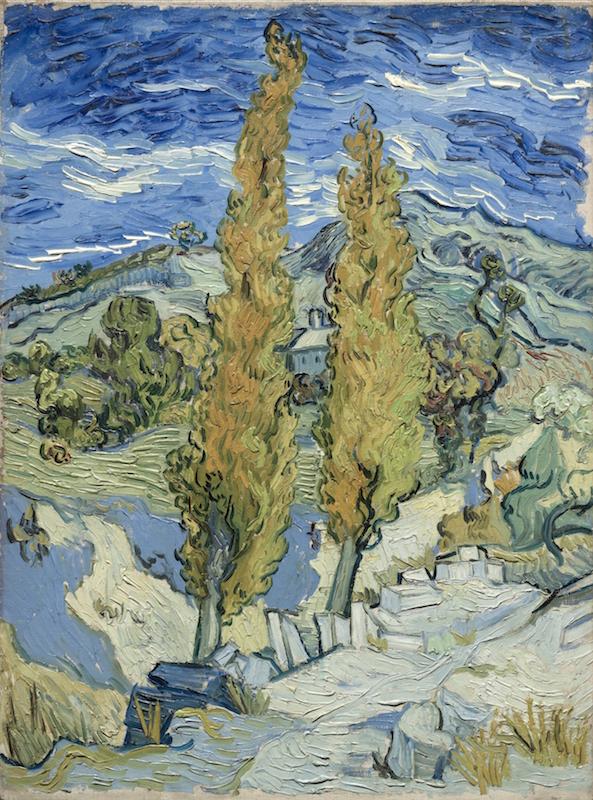 The Poplars at Saint-Rémy