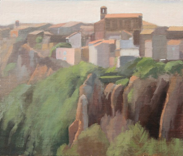 2.-Castel-S.-Elia-oil-on-linen-8-x-10-inches-2014